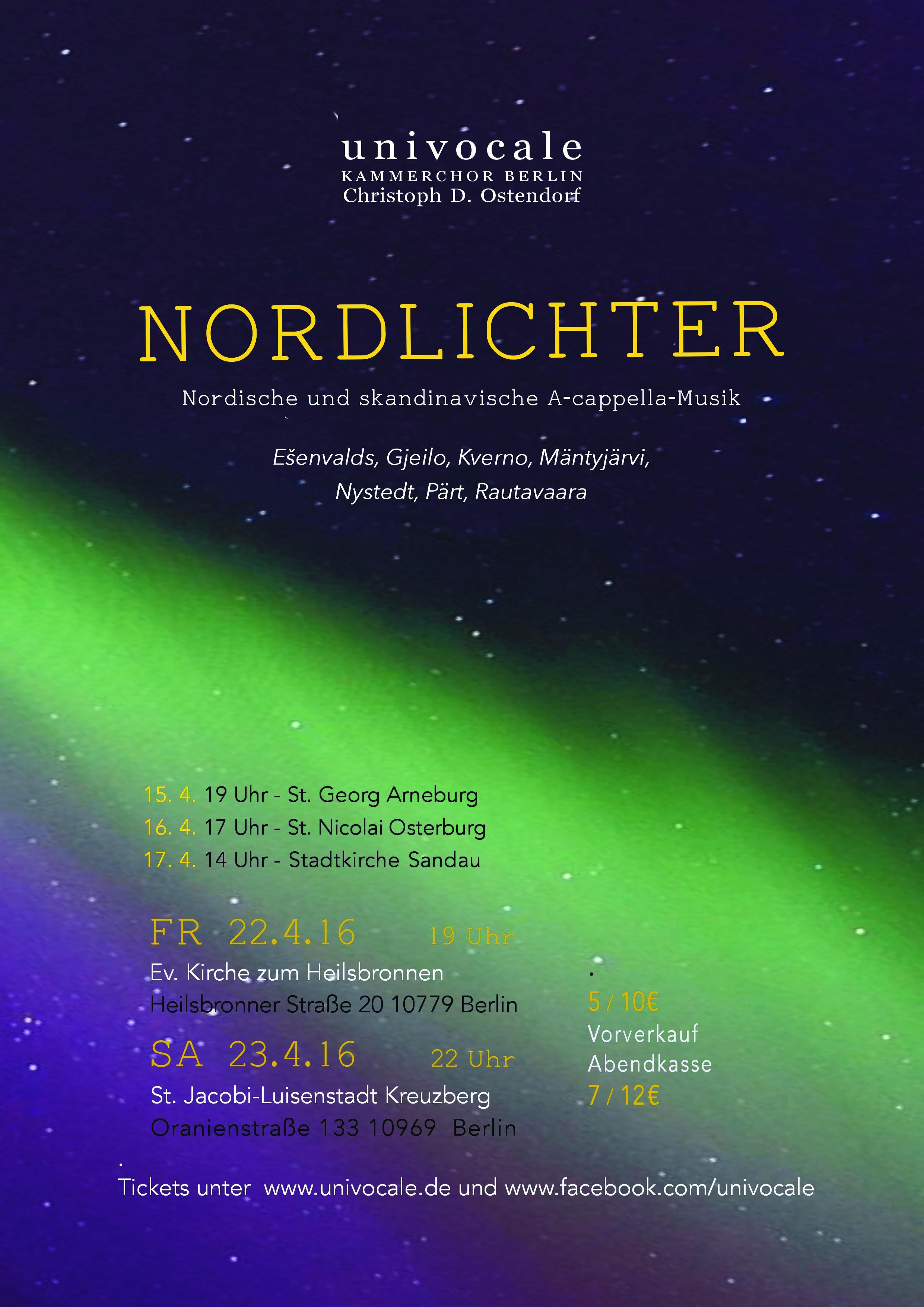 Nordlichter-Poster